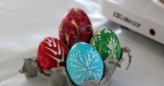 Easter Egg Hunt in Esbjerg Watertower
