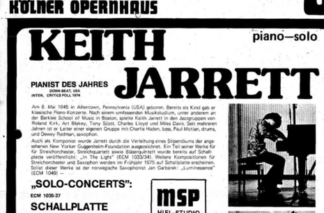 Jazz i mørke - Keith Jarret
