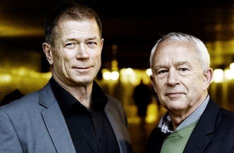 Den ultimative forbrydelse - drabet - Drabscheferne Kurt Kragh og Ove Dahl
