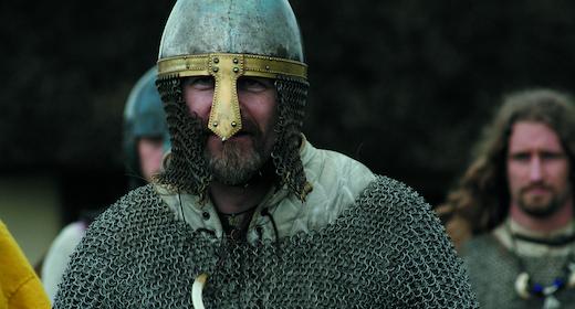 Levendegjort vikingeby på Ribe VikingeCenter