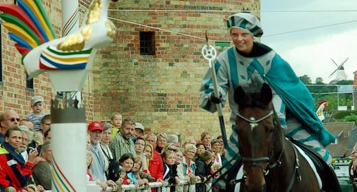 Historisk ringridning ved Sønderborg Slot