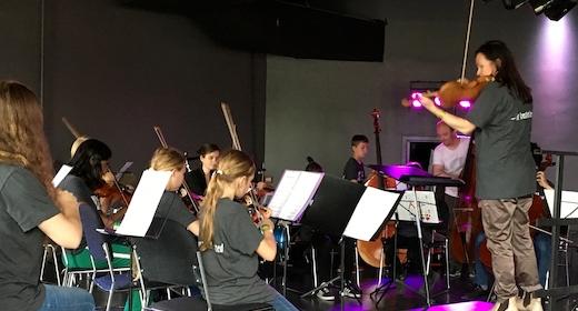 Kulturskoleelever spiller i Tivoli
