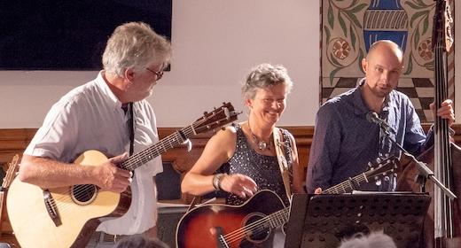 Koncert med Petra Westra and Her Handsome Guys på Tranum Strandgård