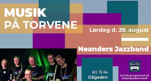 Musik på torvene - Neanders Jazzband