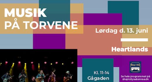Musik på Torvene - Heartlands
