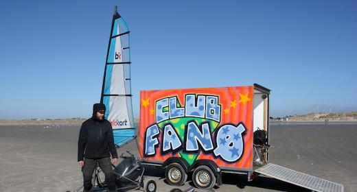 Club Fanø One-wheeler skateboard skole