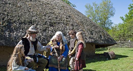 Jernalderlandsbyen Odins Odense genåbnet