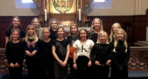 Juniorkor i Dalum Kirke