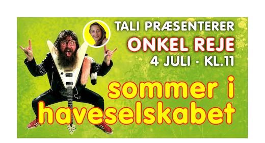 Familiekoncert: Onkel Reje præsenteret af Tali