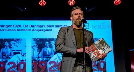 Foredrag hvordan Genforeningen i 1920 fandt sted med journalisten Simon Kratholm Ankjærgaard
