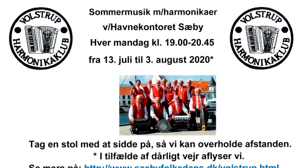 Sommermusik genopstår på Sæby Havn i sommer