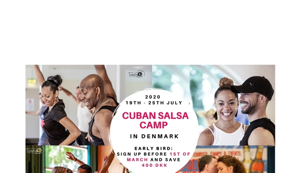 Cuban Salsa Summer Camp in Denmark July 2020!