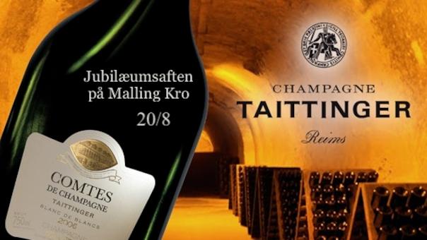 Champagne Jubilæumsaften