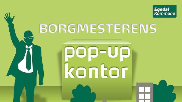Borgmesterens pop-up kontor, Ølstykke Bibliotek
