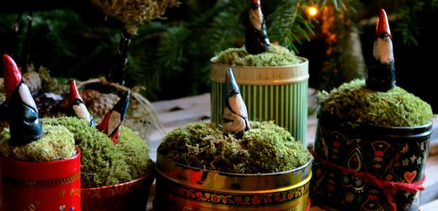 Julemarked på vingården.