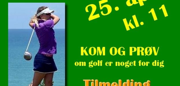 Golfens dag.