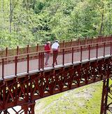 Guidede ture ved Den Genfundne Bro