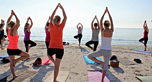 Beach Yoga i Skagen