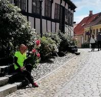 Citywalk in the historic Ebeltoft