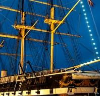 Jul på fregatten Jylland