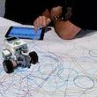 For børn: Tegn kunst og geometri med LEGO Mindstorms/Kr. Hyllinge