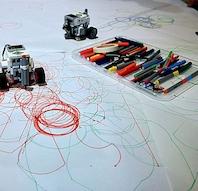 For børn: Tegn kunst og geometri med LEGO Mindstorms/Hvalsø