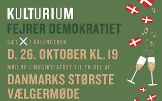 Kulturium fejrer demokratiet