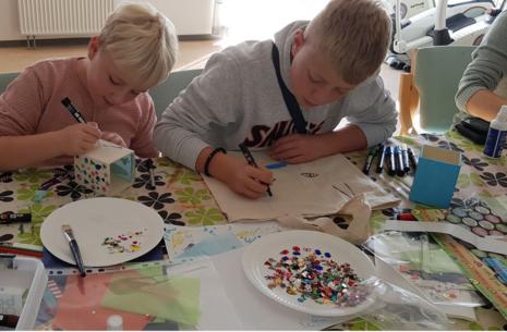 Krea formiddag - for børn i Snertinge