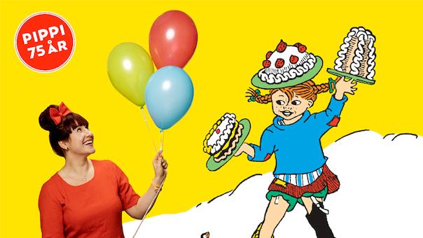 Aflyst! Familiekoncert 3-12 år. Katrine - Pippis fødselsdagsshow