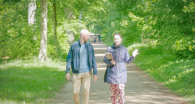 Litterær vandring i Fredensborg Slotspark