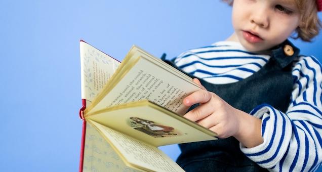Litteraturdage: Julie Carlsen læser højt af Astrid Lindgrens historier