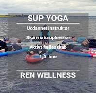 SUP Yoga ved Vigen