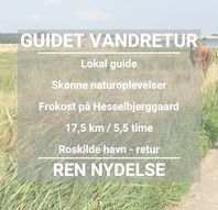 Guidet vandretur ad Skjoldungestien / Fjordstien