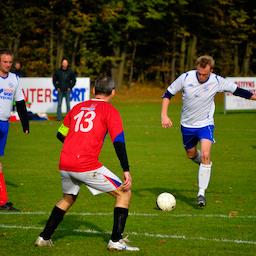 Fodboldkamp Herre-DS Pulje 3 - Ringkøbing mod Kolding B.