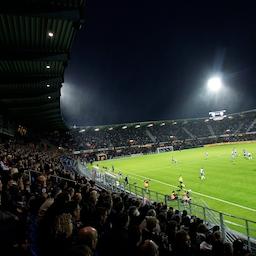 Fodboldkamp Herre-DS Pulje 3 - Ringkøbing mod Horsens fS.