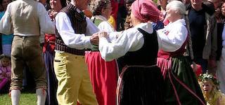 Folkedans/musik i Lunden