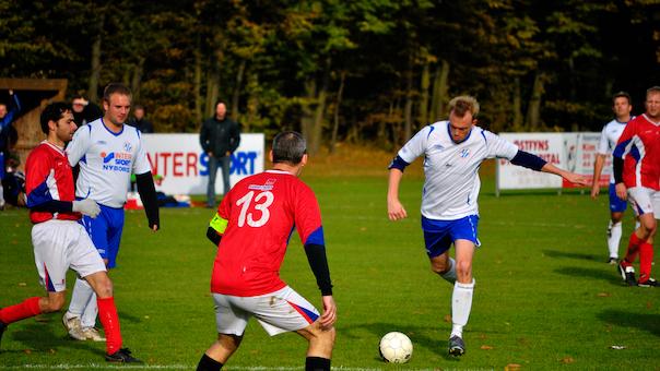 Fodboldkamp Herre-DS Pulje 4 - Vejgaard B mod IF Skjold Sæby