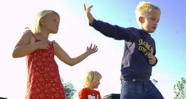 Børnekor i Valsgaard kirke