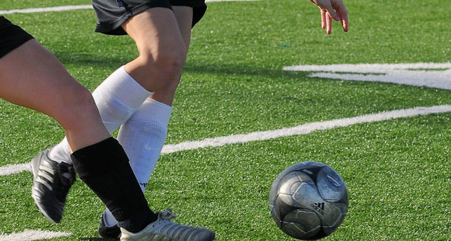 Fodboldkamp 1. Division Slutspil Pulje 1 kvinder - FC Damsø mod Østerbro IF