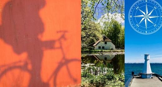 På cykeltur med lokale forfattere - mod nord