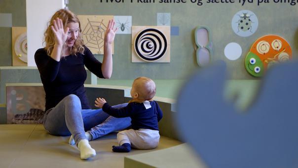 Styrk dit barns sprog - Den spæde start