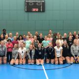 Volleyball for piger mellem 13 og 15 år (U15)