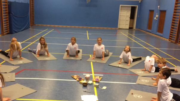 Tween yoga