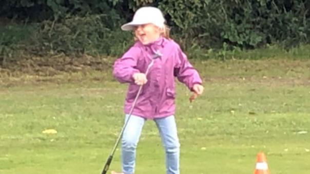 Golftræning for børn