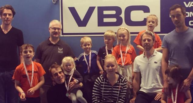 Badminton - 4-6 årige - Forældre/Barn