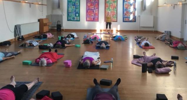 Blid Hatha yoga