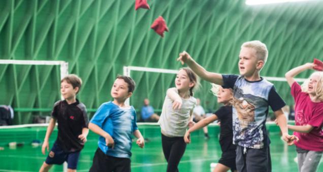 MiniTon - badminton for børn mellem 3-6 år