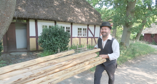 Mød Håndværkerne i Den Fynske landsby