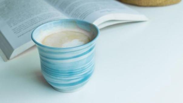 Bogcafé i Hadsten