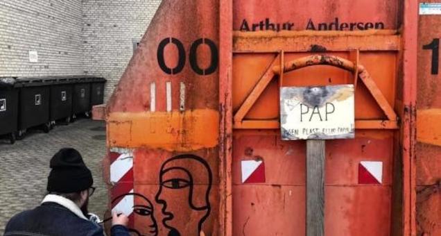Aflyst: Paste-up - Street Art